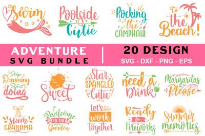 Adventure Quotes Svg Bundle, T shirt Design