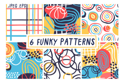 6 Funky Patterns