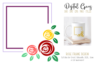Rose frame design