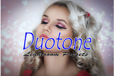 Duotone Instagram Blogger Lightroom Presets