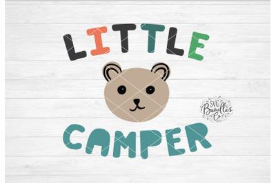 Little Camper SVG DXF PNG