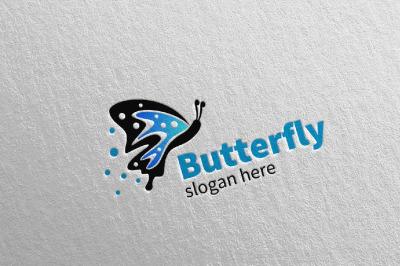 Butterfly Logo vol 4