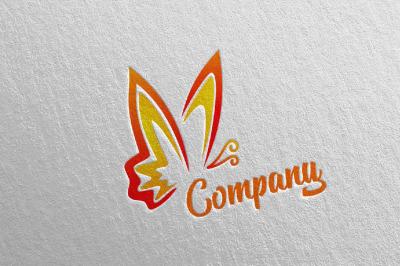 Butterfly Logo vol 5
