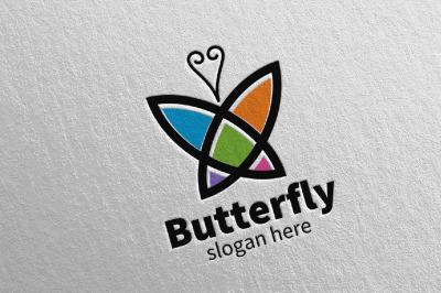 Butterfly Logo vol 7