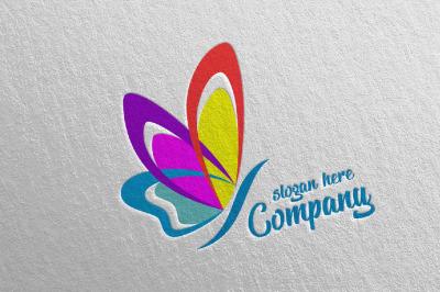 Butterfly Logo vol 9