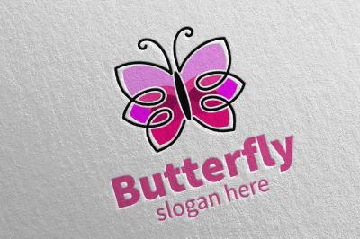 Butterfly Logo vol 10