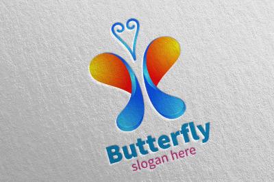 Butterfly Logo vol 12