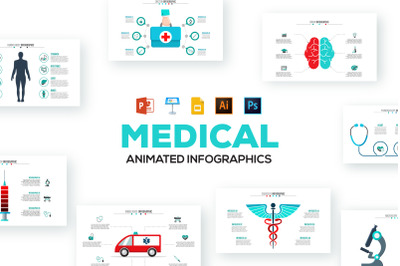 Medical animated infographics