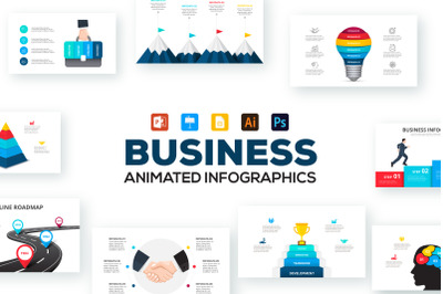 Business infographic presentations