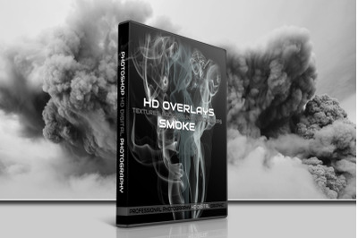 200 HIGH QUALITY SMOKE Digital Photoshop Overlays