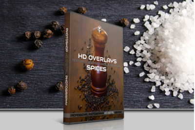 200 HIGH QUALITY SPICES Digital Photoshop Overlays