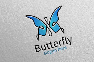 Butterfly Logo vol 14