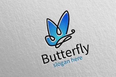 Butterfly Logo vol 15