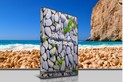 200 HIGH QUALITY STONE, Rocks, Digital Photoshop Overlays