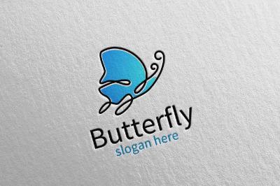Butterfly Logo vol 17