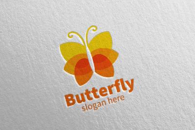 Butterfly Logo vol 18