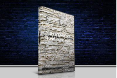 200 HIGH QUALITY STONE, Rock, Wall, Digital Photoshop Overlays