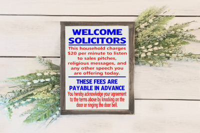 Welcome Solicitors!