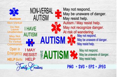Autism Seat Belt Covers Bundle