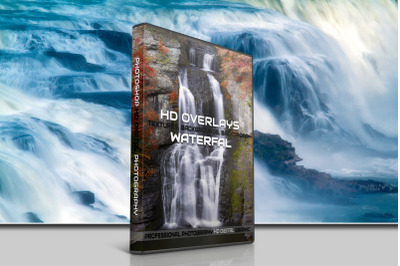 200 HIGH QUALITY WATERFALL, Water, Digital Photoshop Overlays