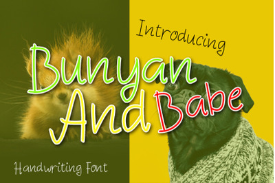 Bunyan And Babe - funny font