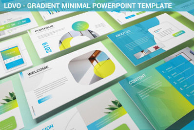 Lovo - Minimal Gradient Powerpoint Template
