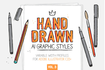 AI handmade styles and brushes vol.3