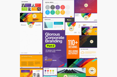 Glorious Corporate Business Branding Identity Stationery Pack Part