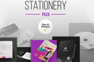 Corporate Branding Identity Stationery Pack