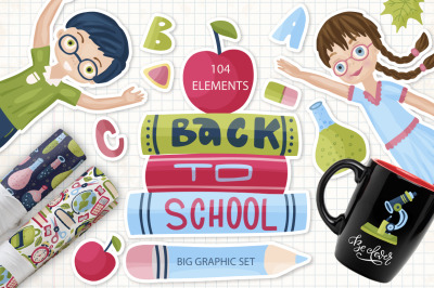 Back to School.. Graphic pack.