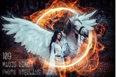 109 Magic Ring Photo Overlays Pack
