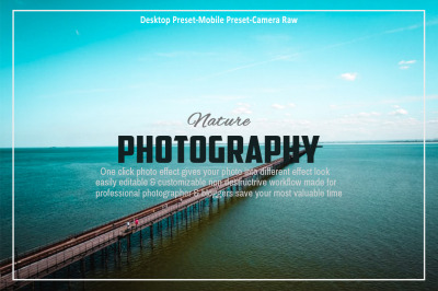 Nature Photography Lightroom Preset Collection