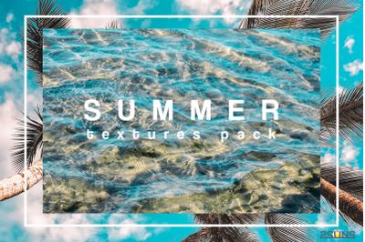 Summer textures photoshop sea water sand digital paper
