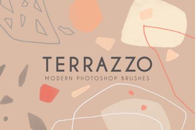 Terrazzo - Modern Photoshop Brushes