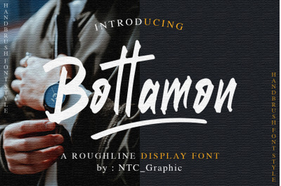 Bottamon Font Display