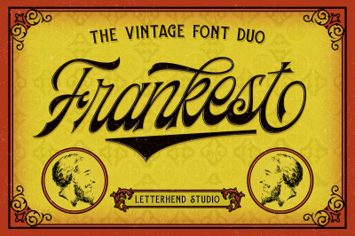 Frankest - The Vintage Font Duo