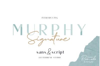 Murphy - Script & Sans BONUS