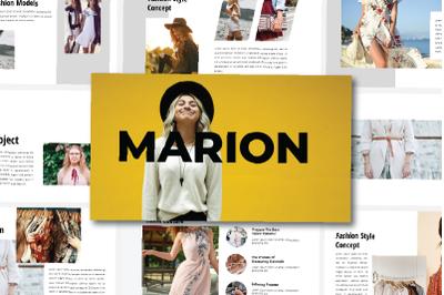 Marion - Google Slide Template