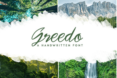 Greedo - Script Font