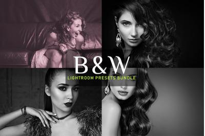 B & W Lightroom Presets Bundle