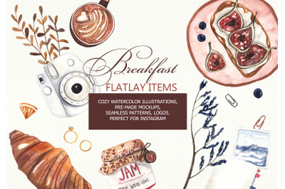 Breakfast Flatlay Collection