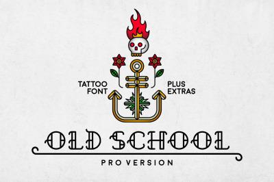 Old School Font