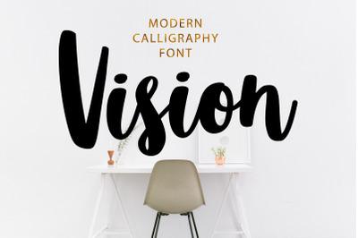 Vision Font