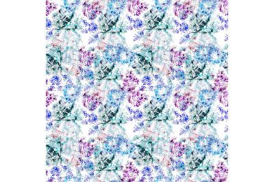 Seamless  winter pattern.