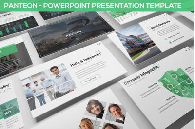 Panteon - Powerpoint Presentation Template