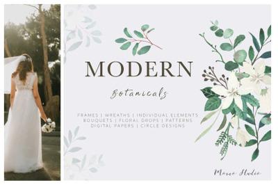 Modern Botanicals Florals & Leaves