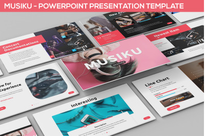 Musiku - Powerpoint Presentation Template