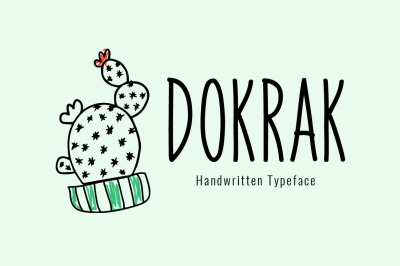 Dokrak Typeface