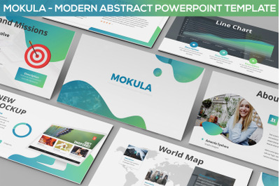 Mokula - Modern Abstract Powerpoint Template