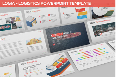 Logia - Logistics Powerpoint Template
